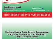Mudanzas y trasteos local y nacional  3146939035
