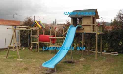 fabrica de parques infantiles en madera camiparques
