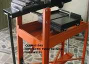 Fabrica cortadora de ladrillo tipo mesa