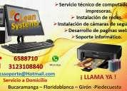Servicio a domicilio computadores e impresoras bucaramanga