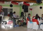 Luces y sonido para fiestas y eventos