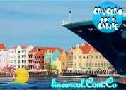 Crucero por el mar caribe todo incluido