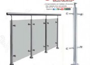 Vidrio aluminio accesorios