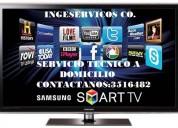 Reparacion de televisores led, lcd,3d samsung en medellin