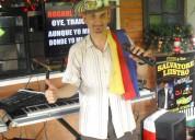 Pereira cantante para todo evento en vivo karaoke hora loca en 4 idiomas pianista graduado liistro