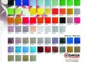 Vidrios pintados variedad de colores
