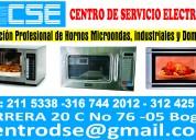 tecnicos en hornos microondas y hornos de empotrar