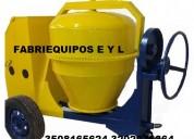 Mezcladora para concreto tipo trompo diesel,gasolina,electrica