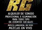 "Alquiler de sonido cucuta ""sonido profesional rg"""