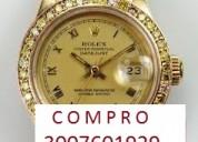 Compro relojes de gama alta, y articulos en oro, plata y platino