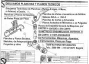 Dibujo tecnico planchas y planos de despiece