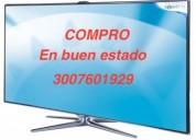 Compro televisores usados en buen estado