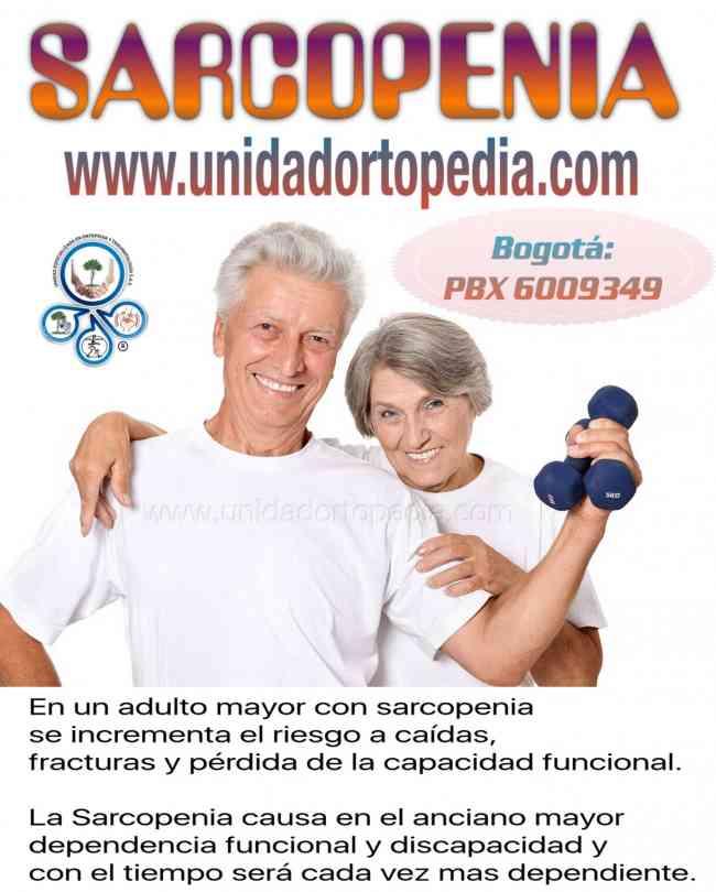 Especialistas Sarcopenia Bogota