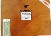 Caja de excelentes y auténticos habanos cubanos cohiba