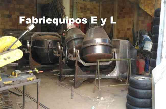 MEZCLADORAS DESDE MEDIO BULTO HASTA DOS BULTOS