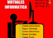 Clases virtuales excel