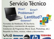 Formatee ya su pc o portatil. instalacion de windows 7, 8 , xp , servicio garantizado