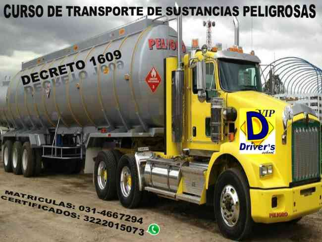 CURSO DE TRANSPORTE DE SUSTANCIAS PELIGROSAS