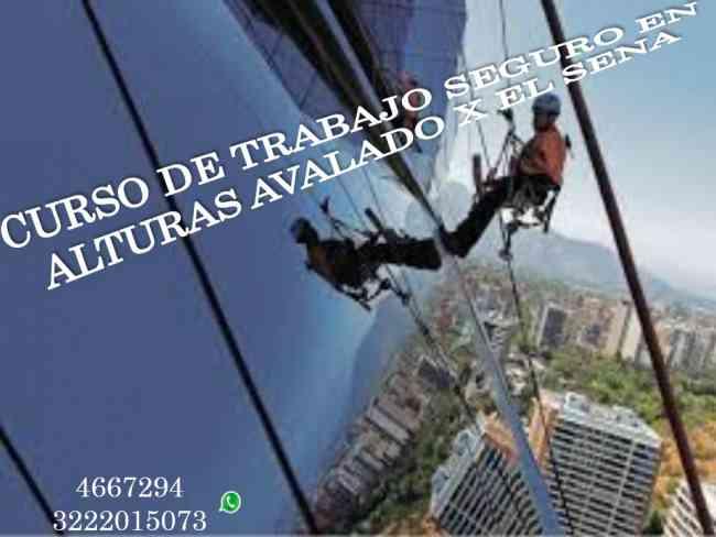 CURSO DE TRABAJO SEGURO EN ALTURAS