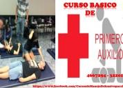 Curso en primeros auxilios