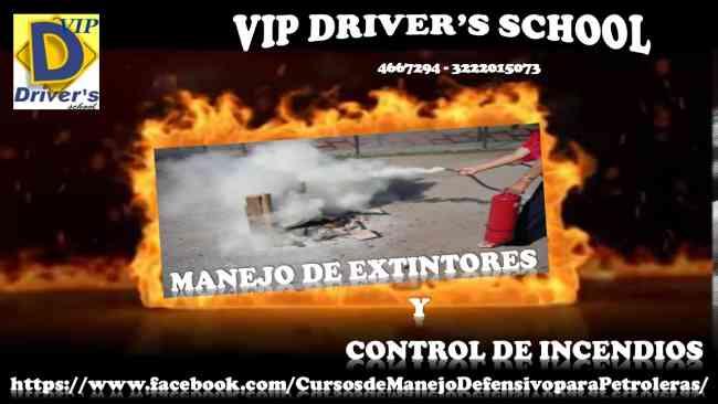 CURSO DE MANEJO DE EXTINTORES