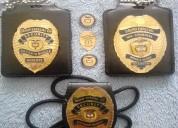 ElaboraciÓn de placas distintivas para escoltas o personal de seguridad