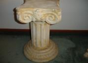 Base en piedra para esculturas, floreros y otros
