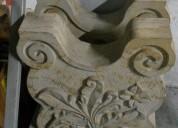 Vendo bases en piedra para comedor, talladas en barichara