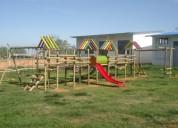 Economicos parques infantiles en madera camiparques