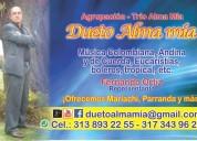 Serenatas tríos, bogota, económicos, agrupación almamía, popular, tropical, misas, música colom