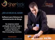 Software para sistemas de administración de riesgo – sherlock