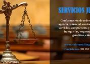 Servicios jurÍdicos: franquicias, esquemas fiduciarios