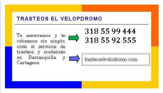 Mudanzas en Barranquilla 318  55 99 444 - 318  55 92 555