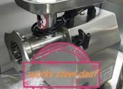 Molino, sierra,emulsificador mezclador embutidor cutter