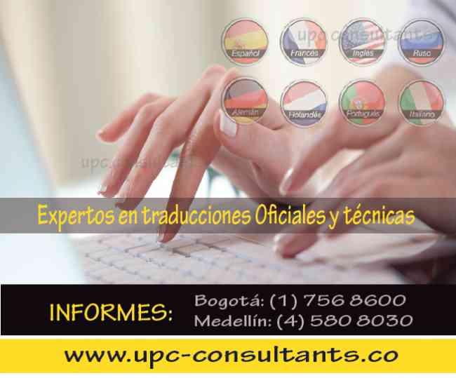 Traducciones de todo tipo (Oficiales y Técnicas) 3113050553*