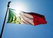 clases de italiano para particulares y grupos reducidos.