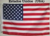 Banderas de estados unidos ! tamaño 90x150cm doble faz polyester