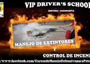 Curso de manejo de extintores y control de incendios