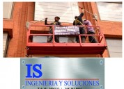 Porticos de carga y andamios colgantes is ingenieria y soluciones ibague
