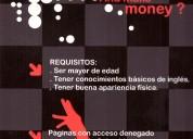 Necesitas dinero extra? web cam industry