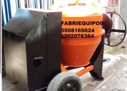 Mezcladora para concreto tipo trompo con motor diesel,gasolina o electrico nuevas