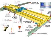 Fabricacion e instalacion de puentes grua