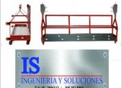 Andamios colgantes is ingenieria y soluciones