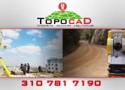 Ofrecemos servicios de topografía e ingeniería en alcantarillados