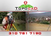 Ofrecemos servicios de topografía e ingeniería en hidrologÍa