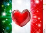 Aprender italiano con un profesor nativo, en manizales.