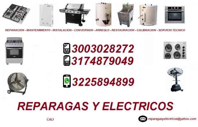 Reparacion de calentadores a gas en Cali Valle del Cauca