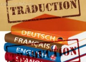 Servicio de traducciones en inglÉs, francÉs, holandÉs, alemÁn.
