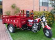 Motocarro yitaki, nuevo, para carga, motor 200 c.c. 4 tiempos,