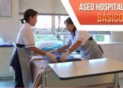 Curso de aseo básico y hospitalario